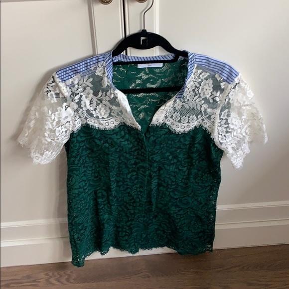 Sandro lace blouse